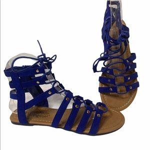 Charles Albert Women's Antonia-3 Royal blue SZ 6